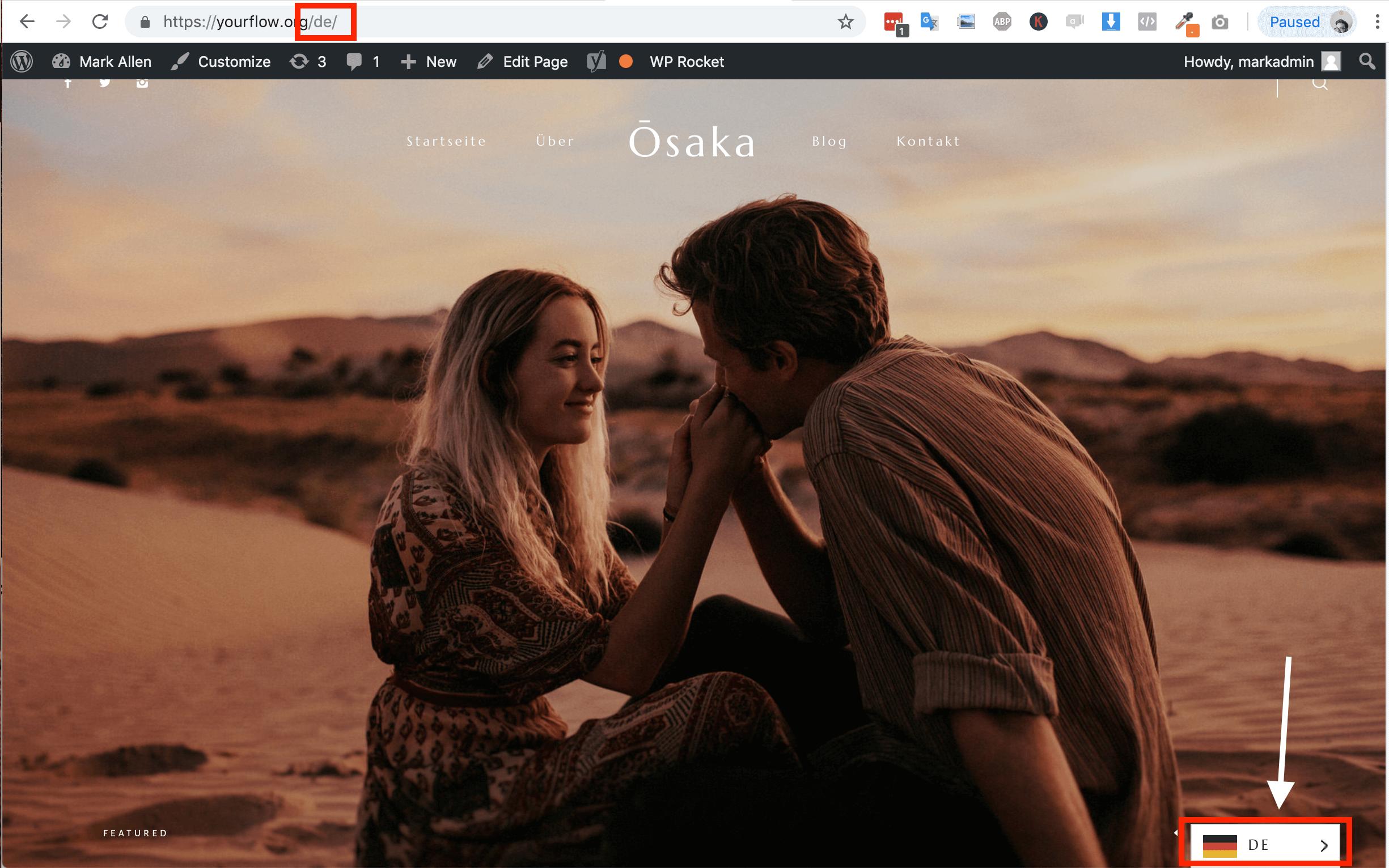 multilingual site example